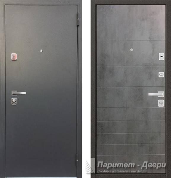 двери входные бетон