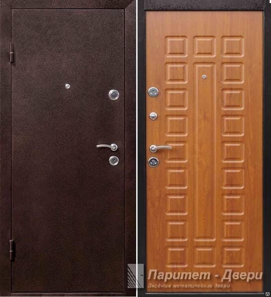 металлическая дверь цвет золотой дуб
